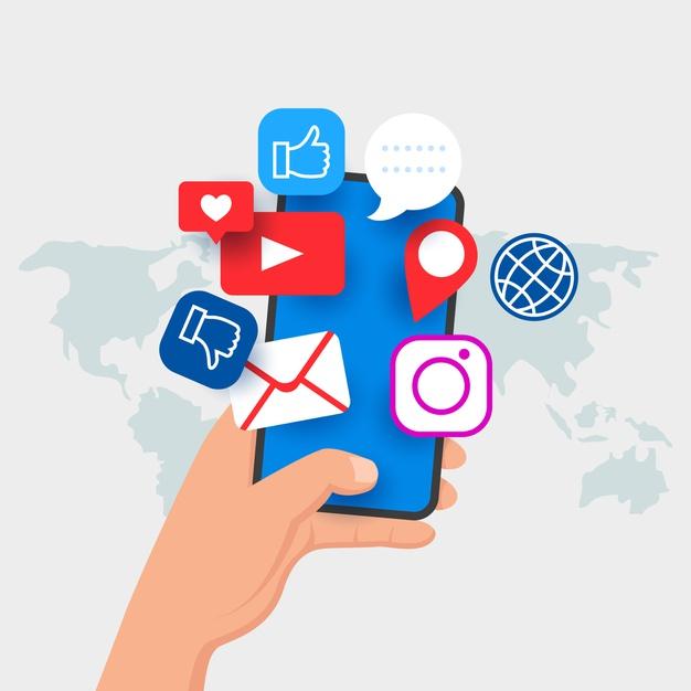 ช่องทางการทำ Digital marketing - social media