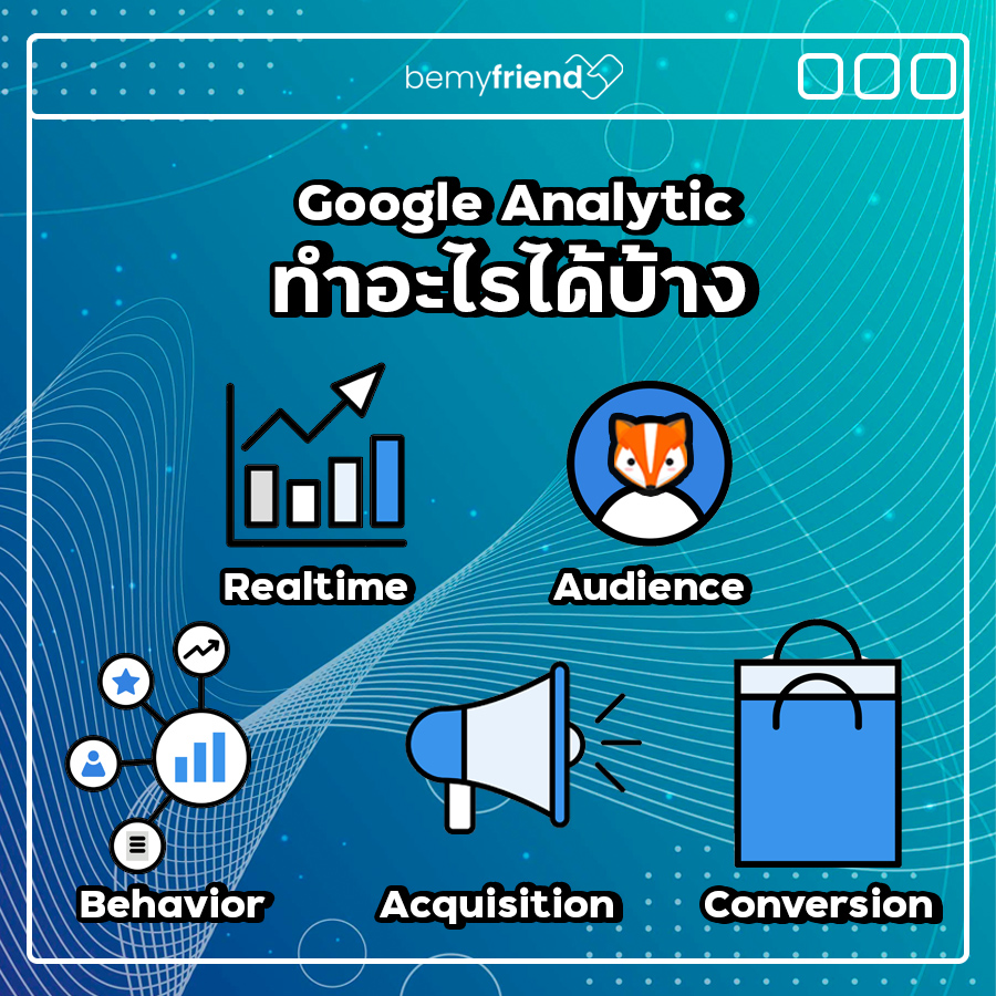 Google Analytics ทำอะไรได้บ้าง
